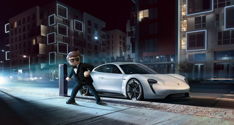 Porsche Mission E : star du nouveau film Playmobil