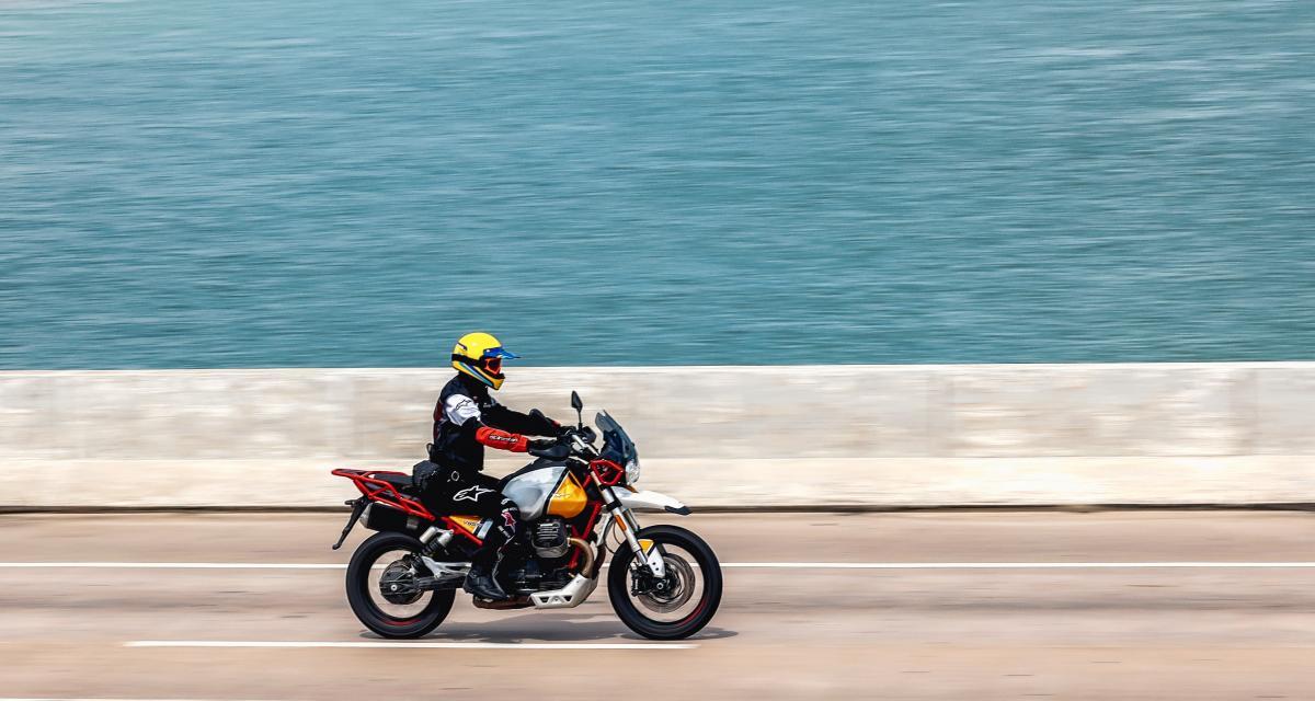 Flashé à 207 km/h à moto, en short et tee-shirt !