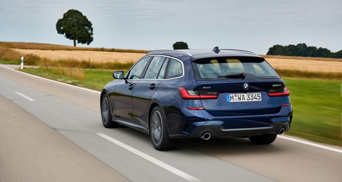 Nouvelle BMW Série 3 Touring : les photos de l'essai à Munich