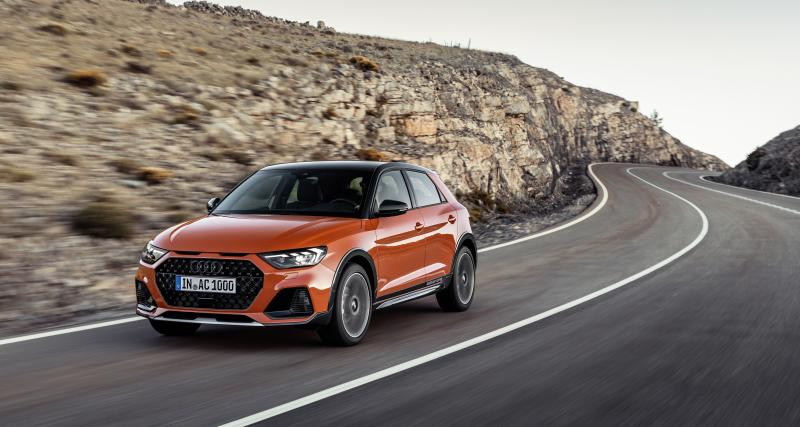 Audi A1 Citycarver : allroad en réduction