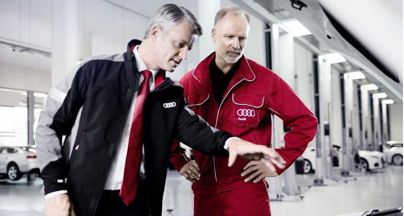 Audi Service Station : entretien 4 étoiles en plein ciel