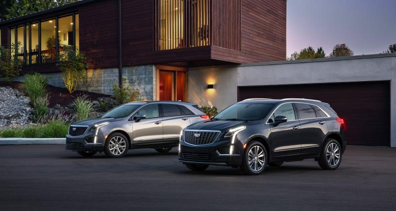 Cadillac XT5 : mise à jour légère pour le best-seller de la marque
