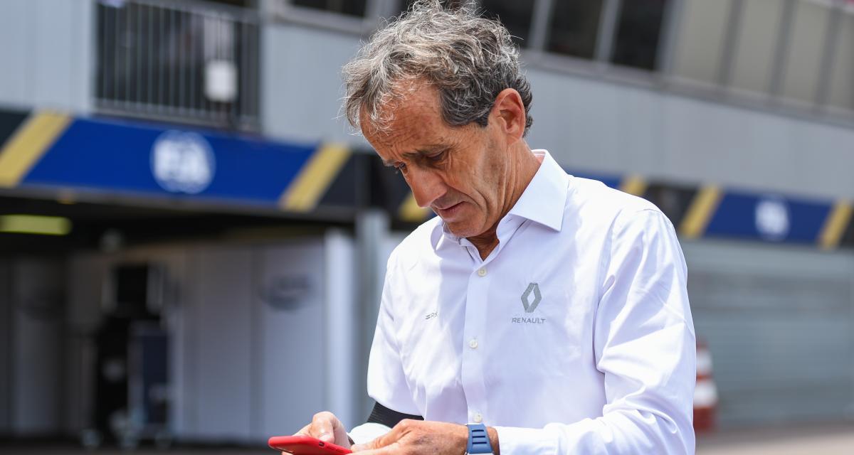 Renault F1 : la carte Alain Prost