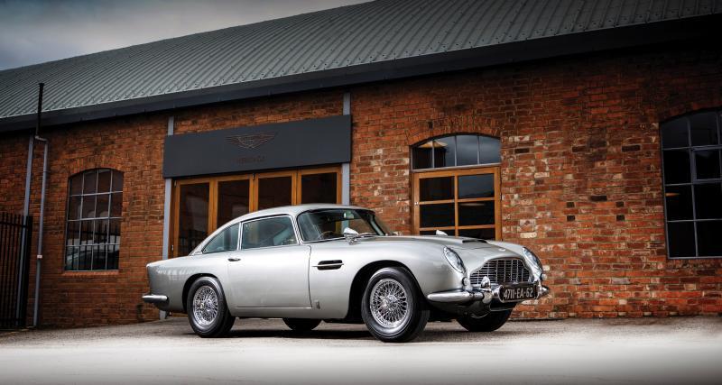 Aston Martin DB5 de James Bond : le joujou mythique de l'agent 007 à vendre aux enchères