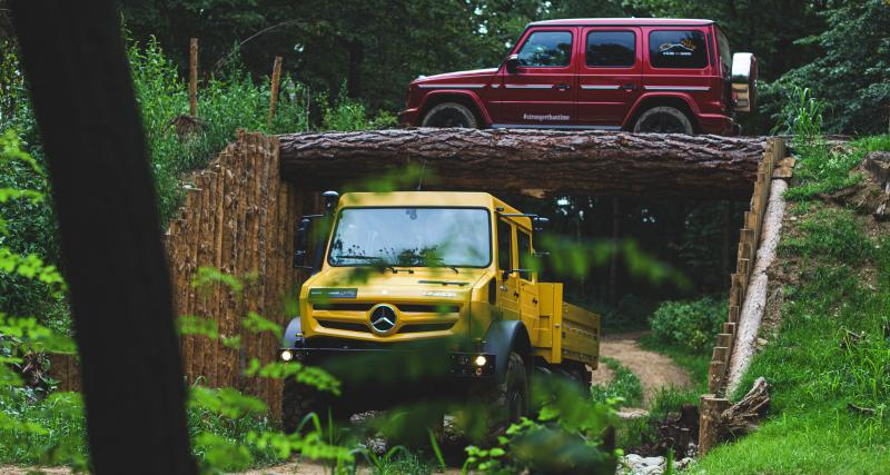 Mercedes Classe G et Unimog : les étoiles du tout-terrain