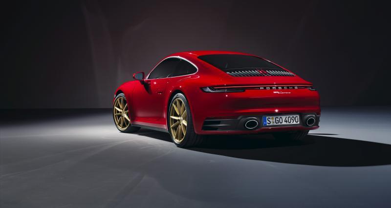 Quelles sont les caractéristiques techniques de la nouvelle 911 Carrera ?