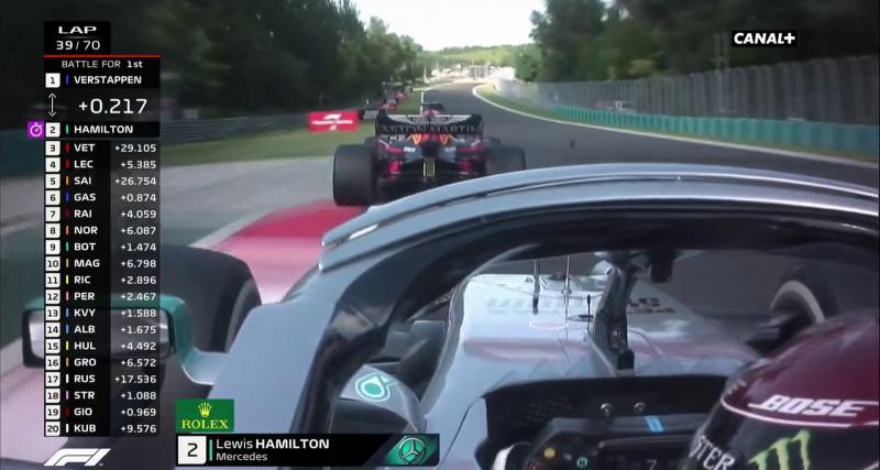 Duel tendu entre Verstappen et Hamilton en vidéo