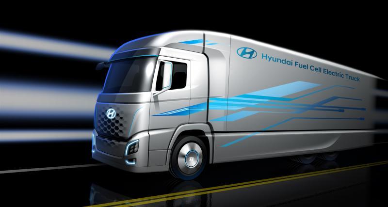 Des camions Hyundai à hydrogène pour la Suisse
