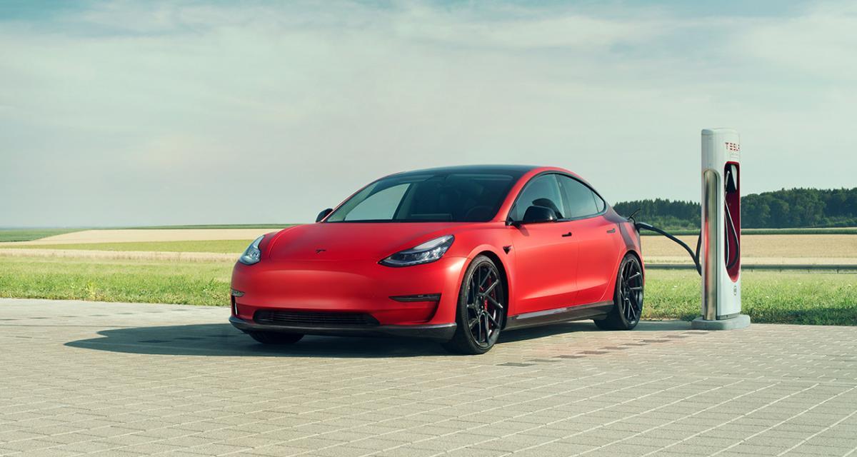 Tesla Model 3 : une préparation électrique signée Novitec