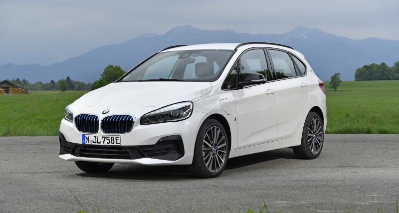 La BMW Série 2 Active Tourer eDrive remplace ses batteries