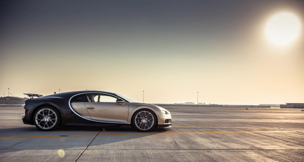 Bugatti Chiron : les 500 à l'heure, pas sans les fournisseurs