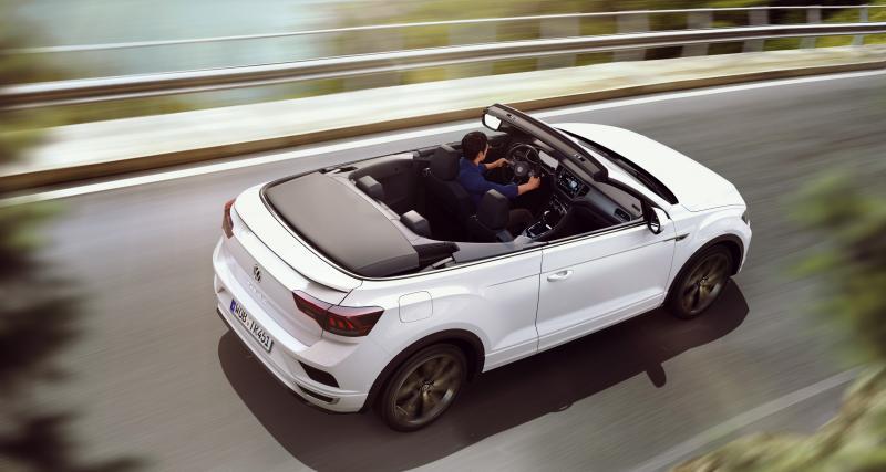 Volkswagen T-Roc Cabriolet : les photos officielles du SUV découvrable