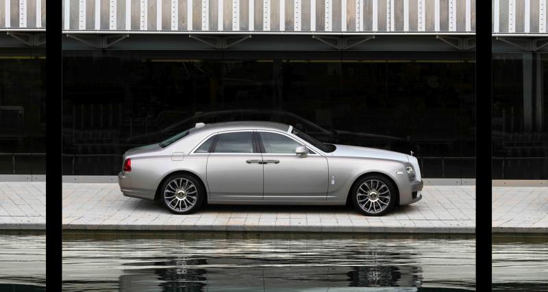 Rolls-Royce Ghost Zenith : toutes les photos de l'édition limitée