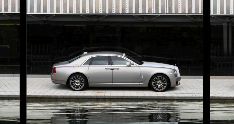 Rolls-Royce Ghost Zenith : toutes les photos de l'édition limitée