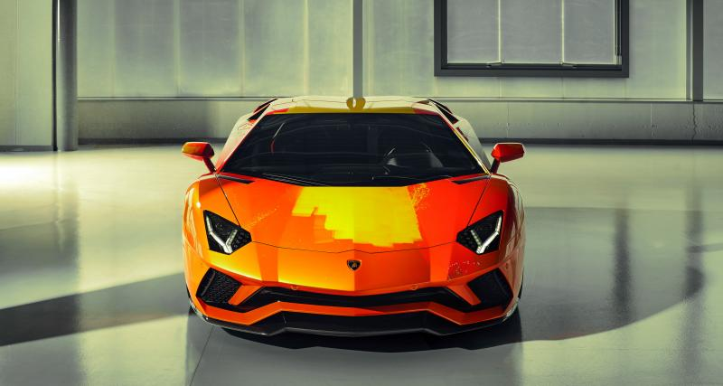 Lamborghini Aventador S par Skyler Grey : toutes les photos de cet exemplaire pop et unique