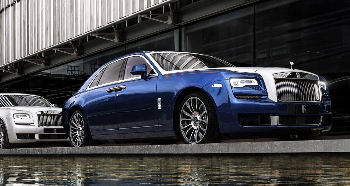 Rolls-Royce Ghost Zenith : l'édition limitée en trois points
