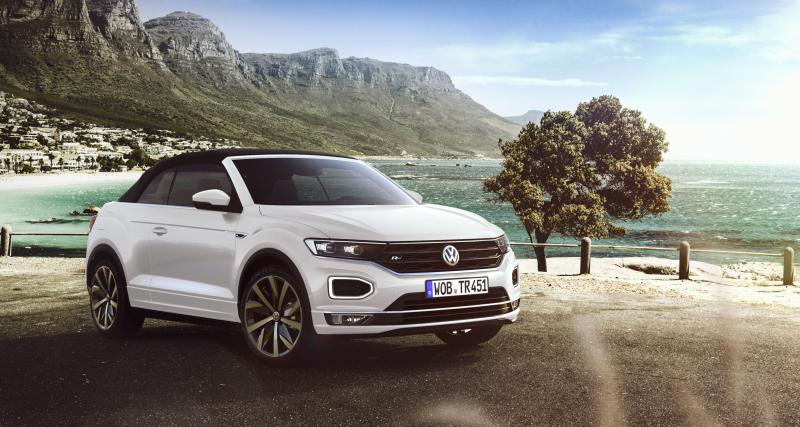 Volkswagen T-Roc : la version Cabriolet en trois points
