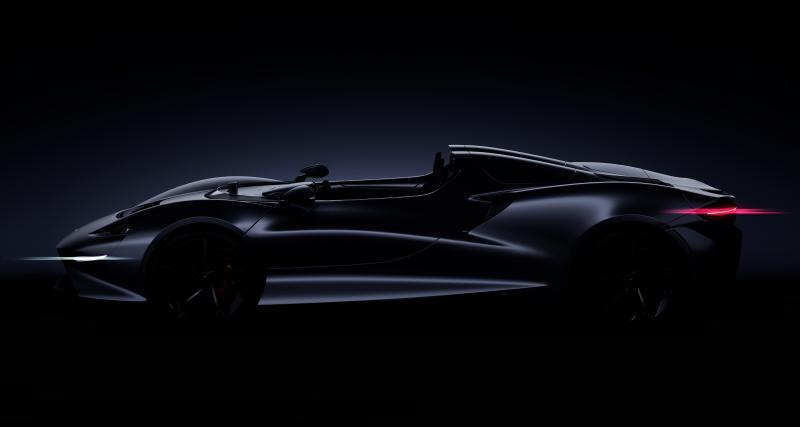Une nouvelle McLaren à fond sur les sensations