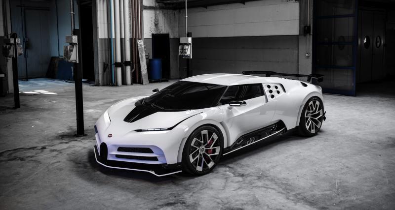 Bugatti Centodieci : toutes les photos du bolide de 1600 chevaux à 8 millions d'euros