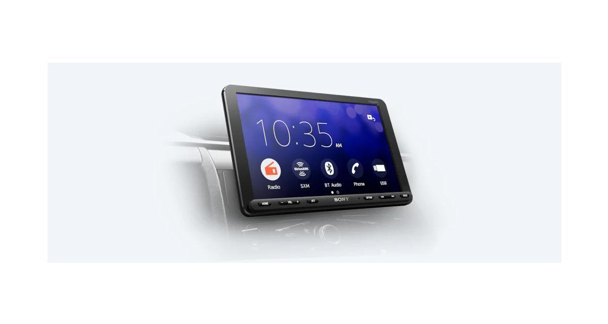 Sony dévoile un autoradio CarPlay avec écran de 8 pouces