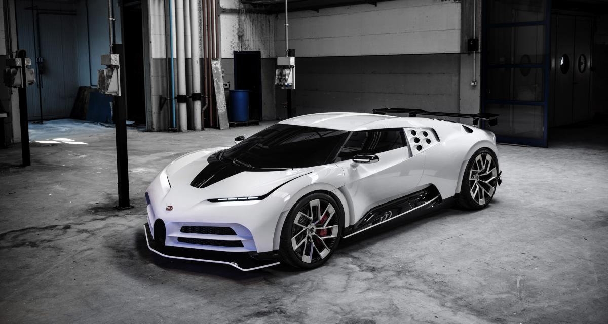 Bugatti Centodieci : la nouvelle EB110