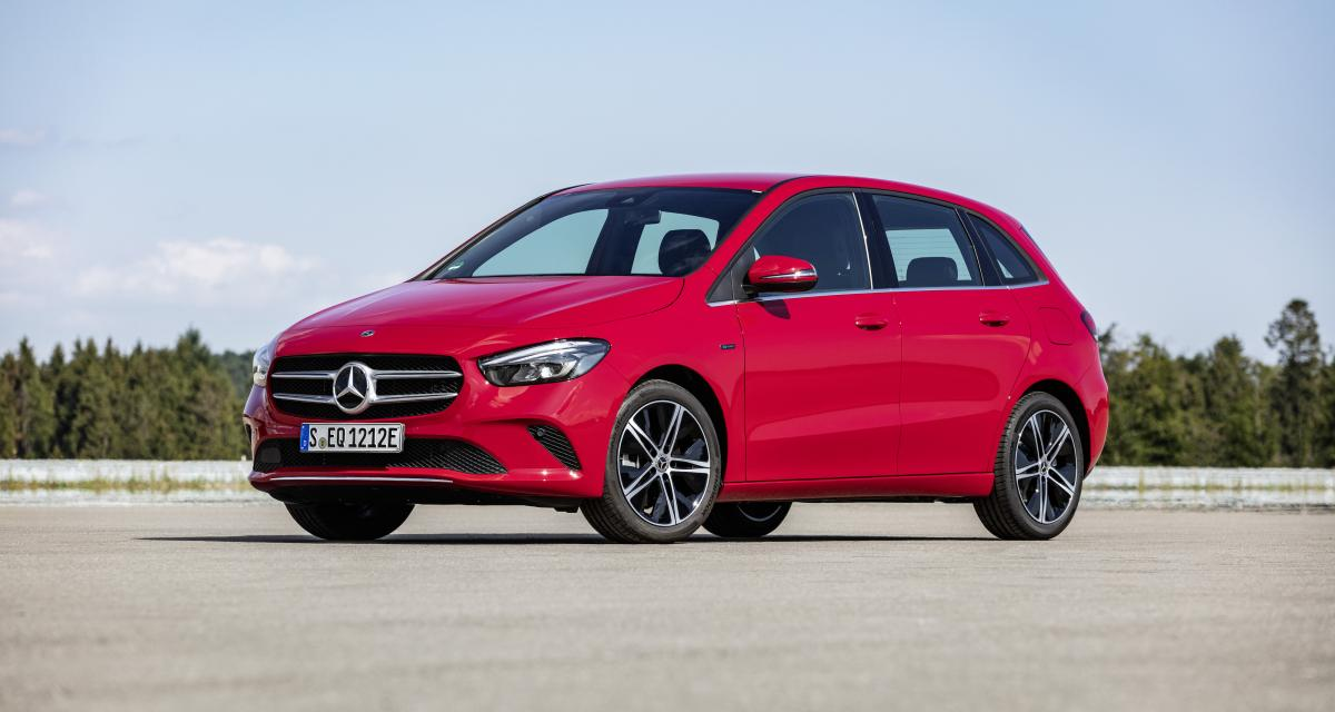 Mercedes Classe B 250 e EQ Power : le monospace hybride