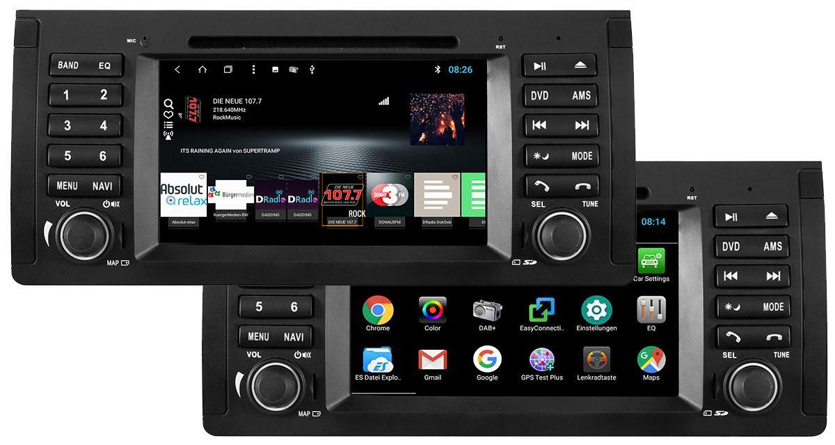 """ESX commercialise un autoradio Android """"plug and play"""" pour les BMW E39 et E53"""