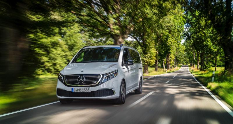 Mercedes EQV : toutes les photos du van électrique