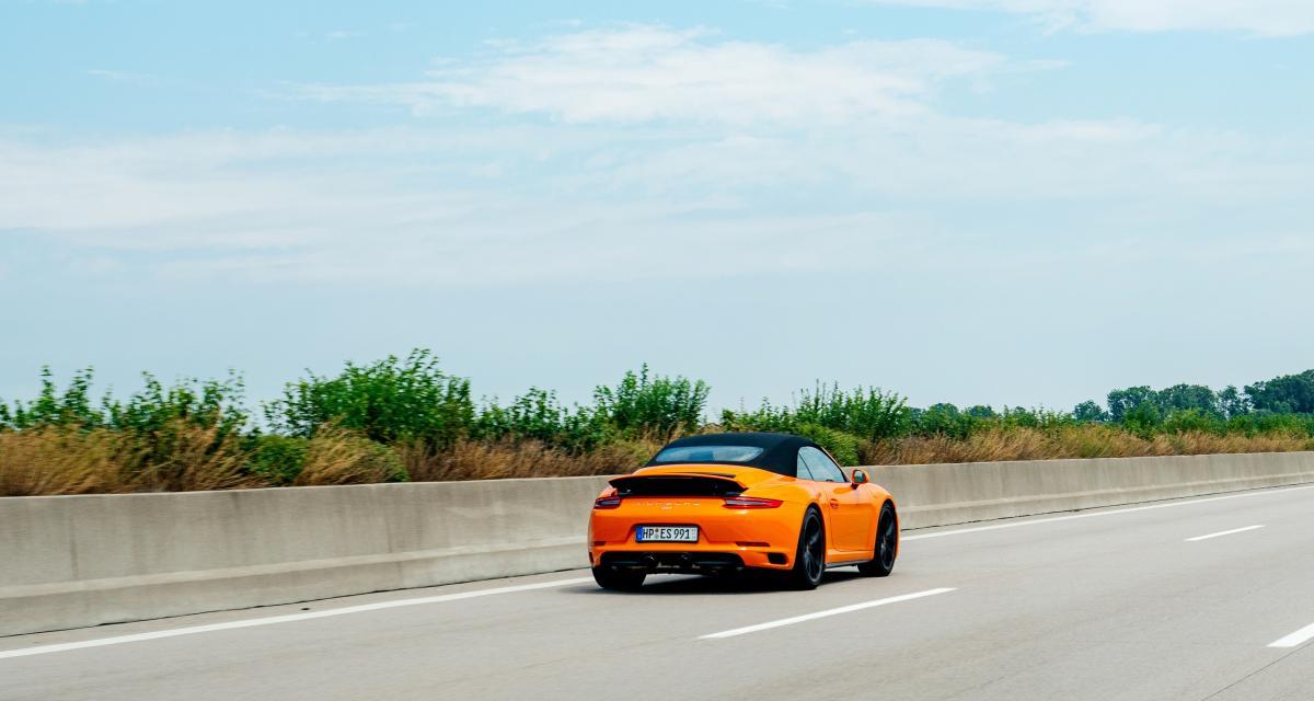 Un convoi de cinq Porsche flashé à plus de 200 km/h sur l'autoroute A89