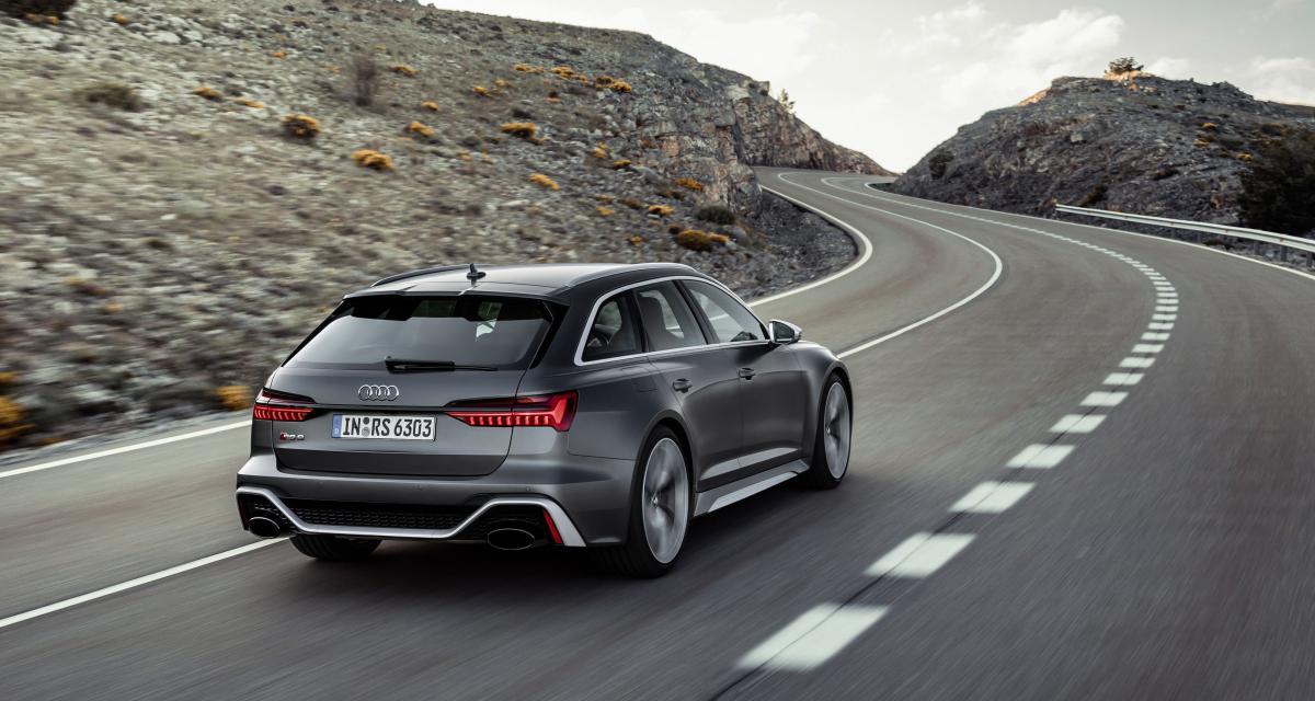 Audi RS6 Avant : 600 chevaux pour le nouveau break aux anneaux