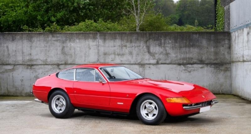 Une Ferrari 365 GTB / 4 Daytona ayant appartenu à Elton John en vente