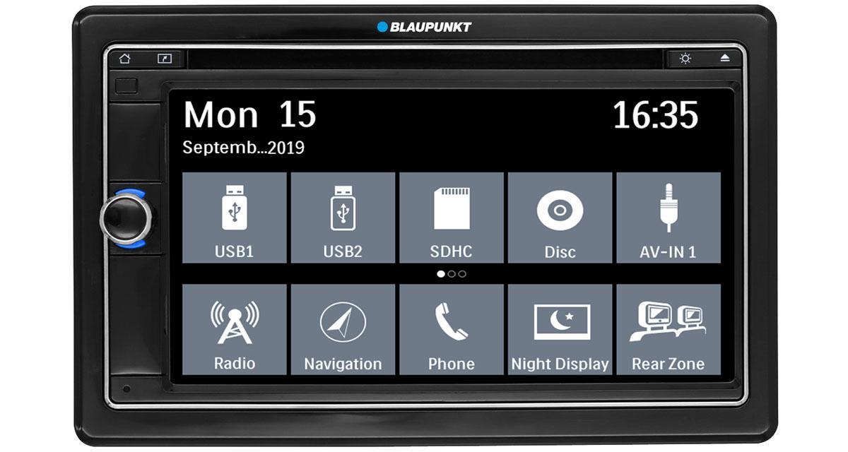Blaupunkt commercialisera un nouvel autoradio GPS à la rentrée