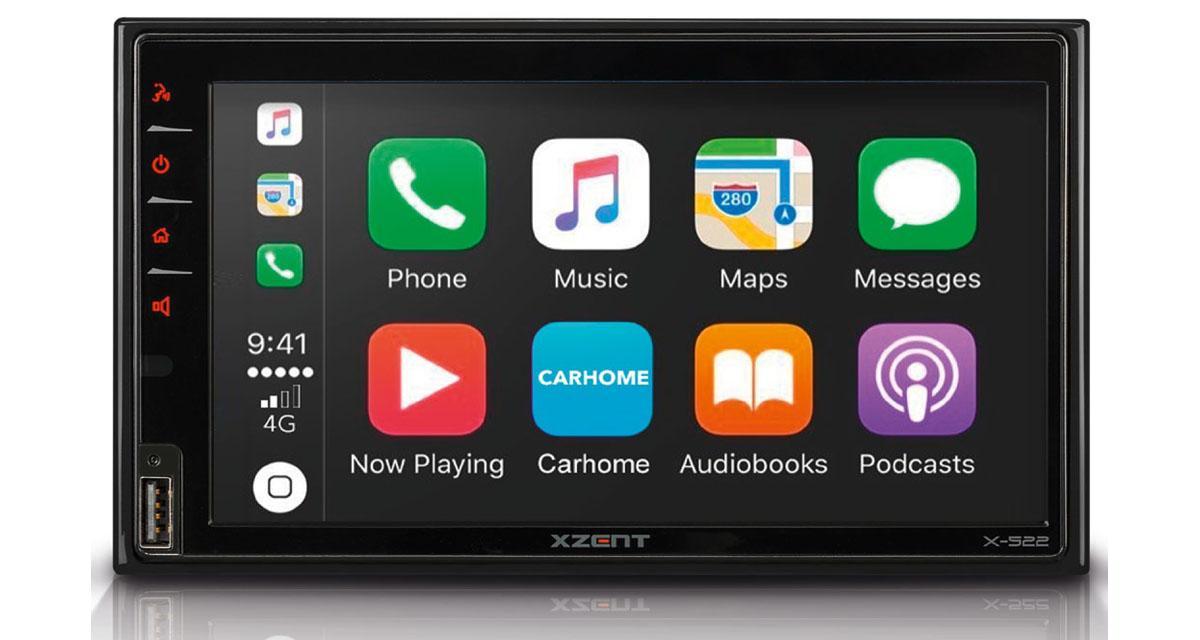 Xzent commercialise un autoradio CarPlay et Android Auto à un prix canon