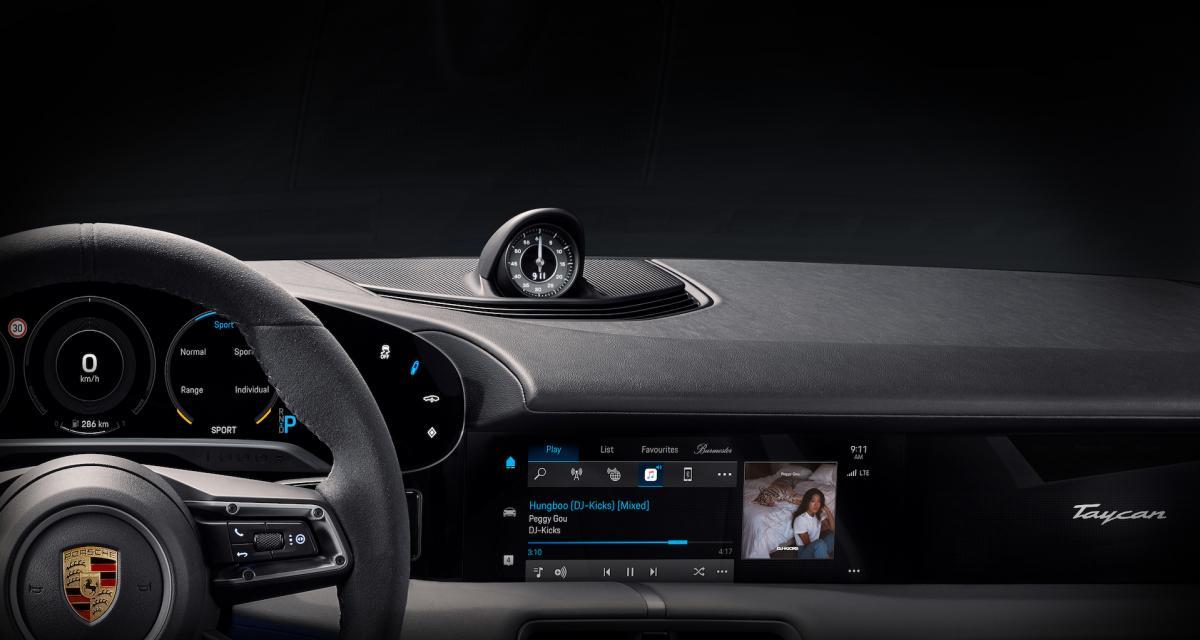 Porsche Taycan et Apple : partenariat inédit