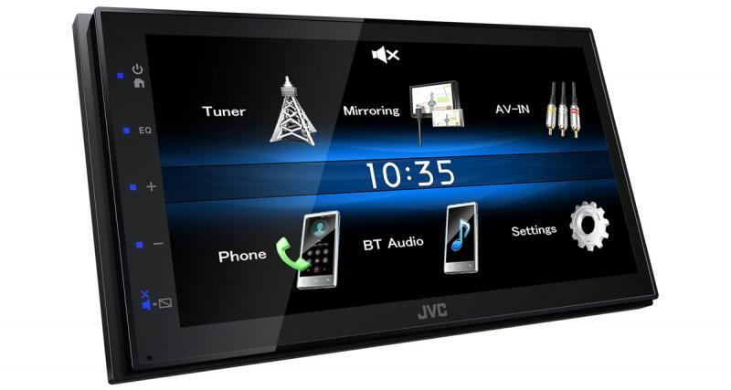 Un autoradio avec Mirroring pour Smartphones Android chez JVC