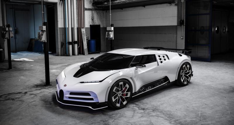 Bugatti Centodieci : l'hommage à l'EB110 en trois points