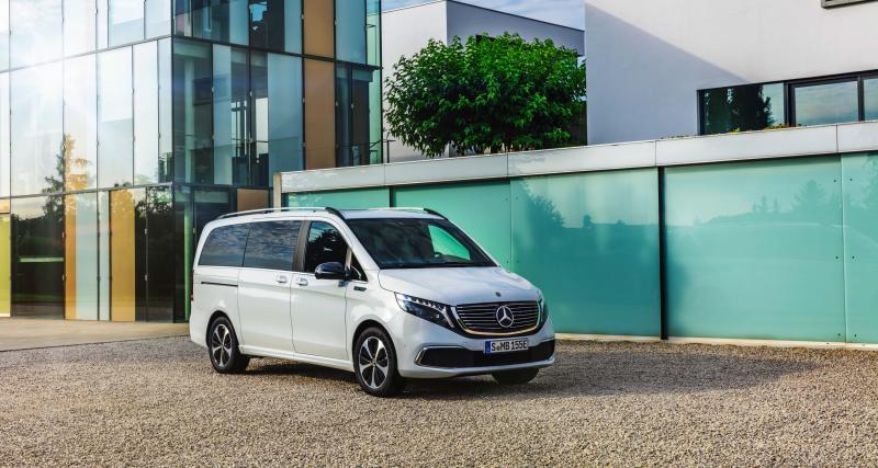 Mercedes EQV : le van 100% électrique en trois points
