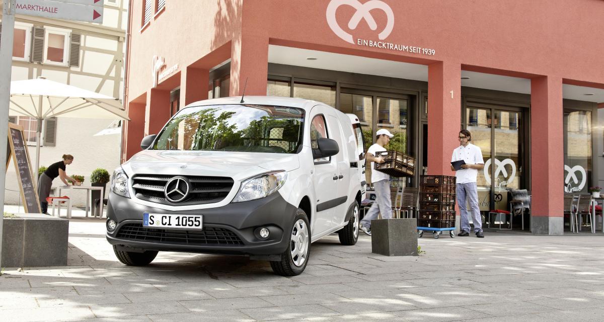 Renault - Mercedes: les Kangoo-Citan remettent le couvert