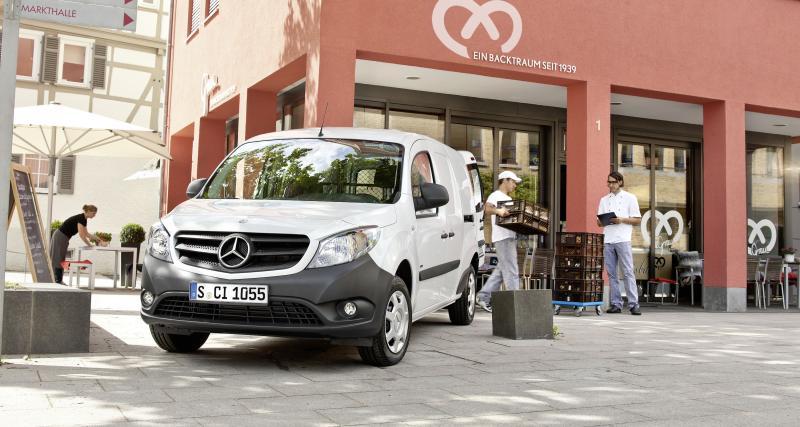 Renault – Mercedes: les Kangoo-Citan remettent le couvert