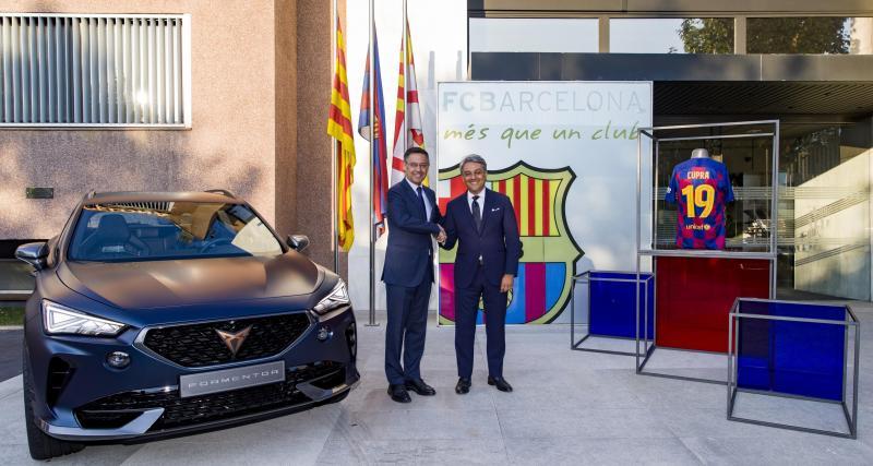 Lionel Messi et Griezmann vont rouler en Cupra