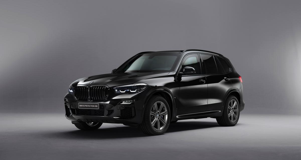 BMW X5 Protection VR6 : toutes les photos officielles du SUV blindé