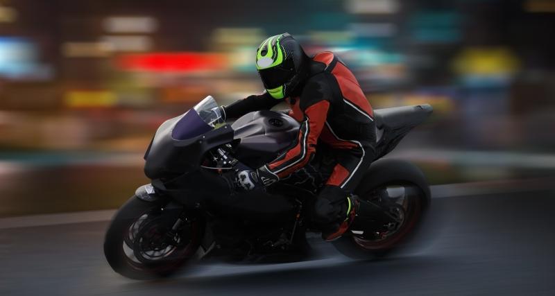 Un motard flashé à près de 200 km/h au volant d'une moto de 1000 cm3
