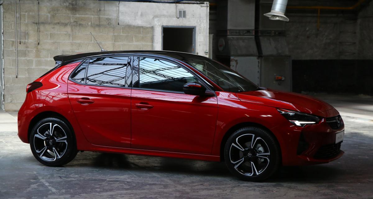 Nouvelle Opel Corsa : nos photos exclusives de la nouvelle citadine à l'éclair