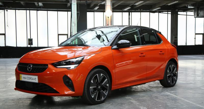 Opel Corsa-e : nos photos de la citadine 100% électrique