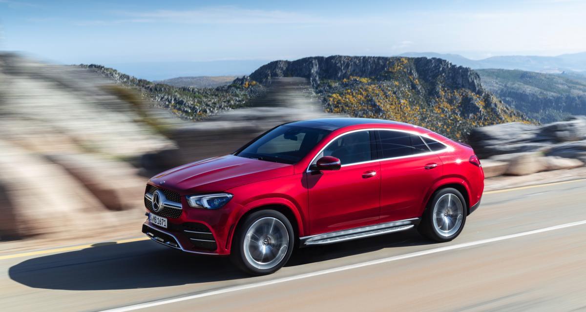 Nouveau Mercedes GLE Coupé: prêt pour Francfort