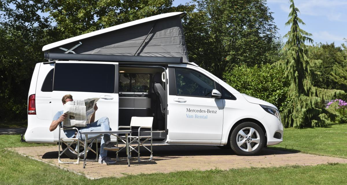 Camping-car : le Mercedes Marco Polo passe à la location