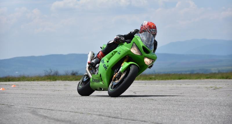Un motard flashé à 263 km/h !
