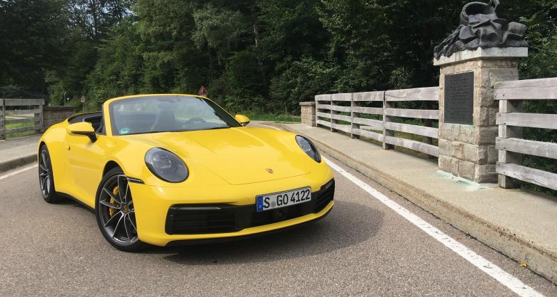 Nouvelle Porsche 911 Carrera: les photos de notre essai