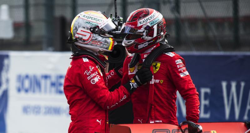Grand Prix de Belgique de F1 : Leclerc en pole, la grille de départ