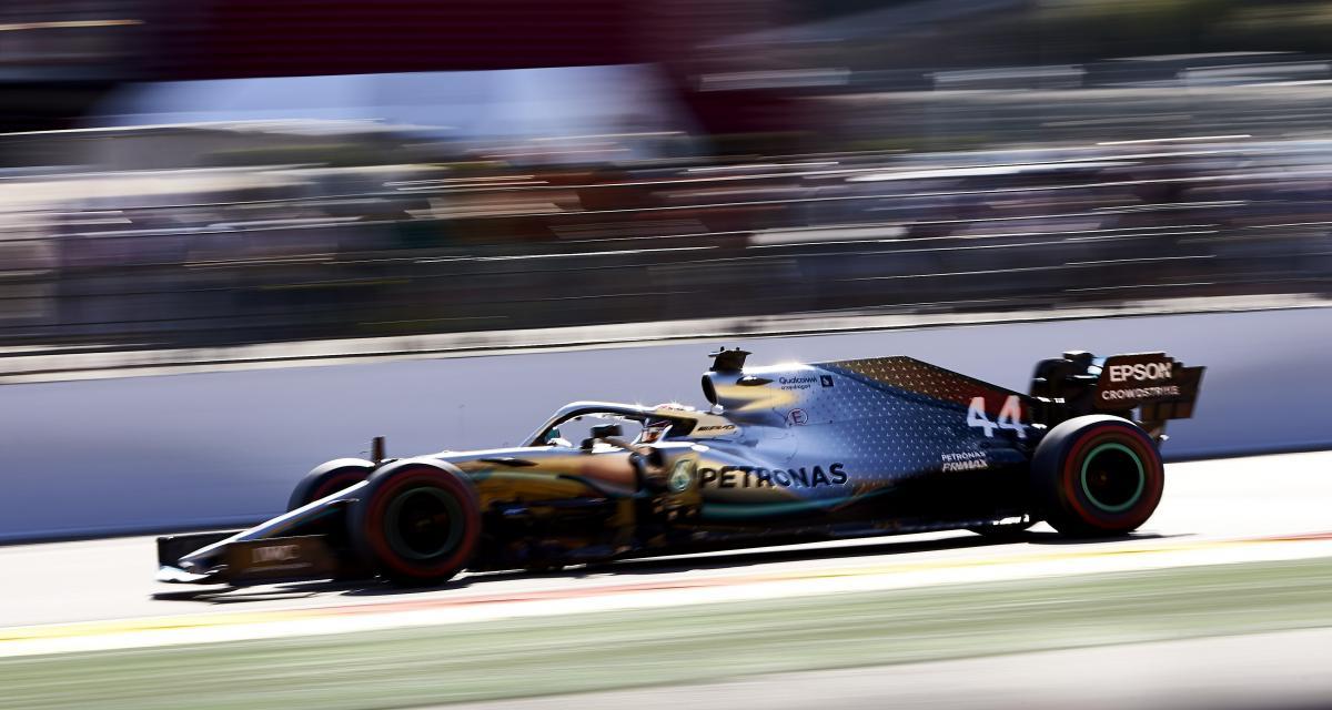 Essais libres du Grand Prix de Belgique de F1 : la sortie de piste de Lewis Hamilton en vidéo